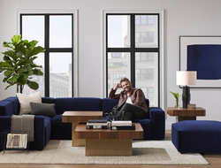 The Bobby Berk Collection includes pieces for the living room, bedroom and dining room.