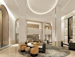 The Clift Royal Sonesta Hotel undergoes renovation.