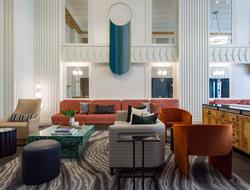 Lake Michigan inspires renovation of Kimpton Hotel Monaco Chicago.