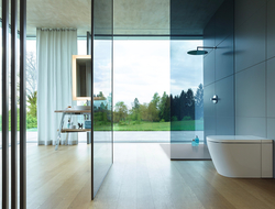 Duravit partnered with Philippe Starck to launch SensoWash i as Duravit's first-ever integrated shower toilet.