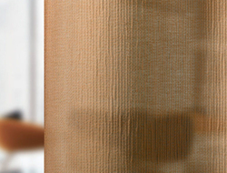 Vescom introduced its acoustic sheer curtains in the US.