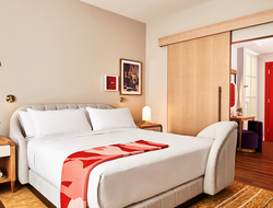 Virgin Hotels Dallas opens as first hotel in Design District.