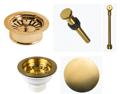 The kitchen and bath drainage hardware are built to last with sturdy construction and a timeless look.