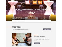 Marriott unveils new event platform