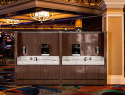 MGM Resorts handwashing stations