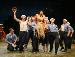 South Pacific, with sound design by Scott  Lehrer