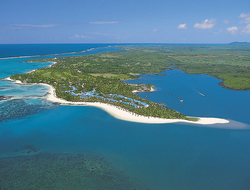 One&Only Le Saint Geran, Mauritus on a beach peninsula