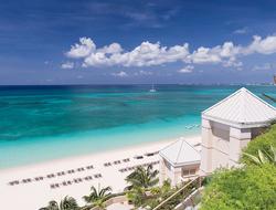 a hotel on a beach