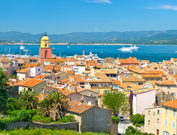 Saint-Tropez, France during the day