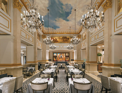 The St. Regis New York's Astor Court serves international cuisine.