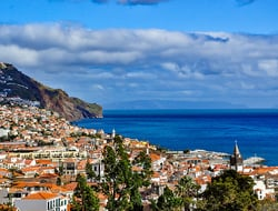 Panorama of Funchal, Madeira