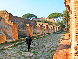 Italy Rome Ostia Antica
