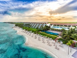 The beachfront at Grand Velas Riviera Maya