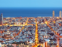 Barcelona skyline - TomasSereda/iStock/Getty Images Plus/Getty Images
