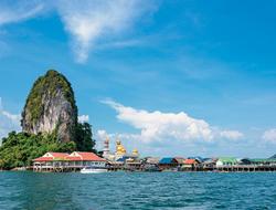 Koh PanyI in Thailand's Phang Nga Bay