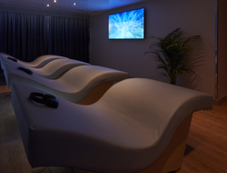 Image of meditation chairs in the new spa concept