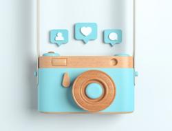 Instagram Stock Image