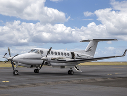 Cabrits Resort & Spa Kempinski Dominica Tropical Aviation Beechcraft King Air 200
