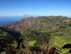 View over St Helena