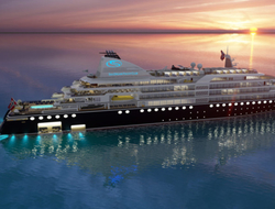 Night Rendering of the upcoming vessel