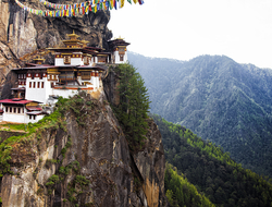Tiger's Nest, Bhutan - StephenChing/iStock/Getty Images Plus/Getty Images