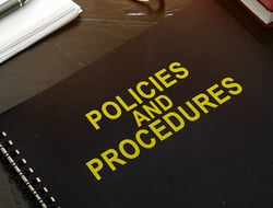 Policies and procedures notebook