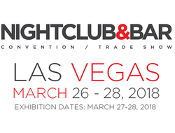 2018 Nightclub & Bar Show logo and dates