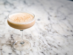 The Covfefe cold brew coffee cocktail by Keely Edgington of Julep Cocktail Club