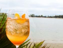 Summer's Rose Spritz cocktail recipe
