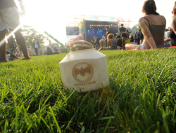 BACARDÍ Stage Governors Ball Punch in branded coconut