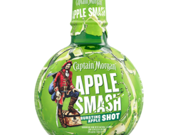 Captain Morgan Apple Smash shot