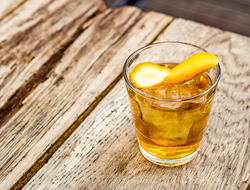 Summer Old Fashioned cocktail