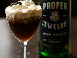 Proper No Twelve Irish Whiskey A Proper Coffee cocktail