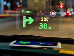 Applying Automation for Efficient Head-Up Display Production