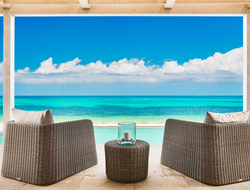 Beach front Sailrock Resort