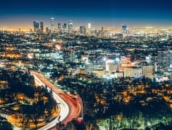 Los Angeles skyline - ferrantraite/iStock/GettyImagesPlus/GettyImages