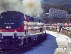 Amtrak Winter Park Express Train