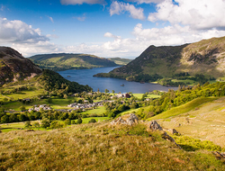 Ullswater Lake, Lake District, England