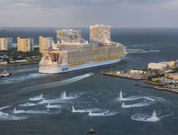 Harmony of the Seas U.S. Debut