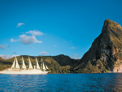 Windstar Wind Surf in St Lucia