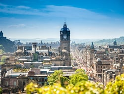 Edinburgh, Scotland - romitasromala/iStock/Getty Images Plus/Getty Images