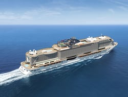 Exterior rendering of MSC Seaview