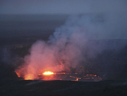 Kilauea volcano Hawaii