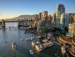 Cityscape of Vancouver, Canada