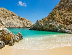 Crete Bay Beach Greece