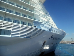 Symphony of the Seas Royal Caribbean Photo by Susan J Young Editorial Use Only
