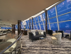 Observation Lounge Norwegian Bliss Photo courtesy of Norwegian Cruise Line