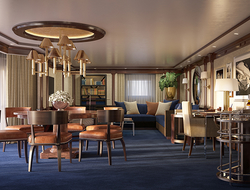 Oceania Cruises Ralph Lauren Living Room