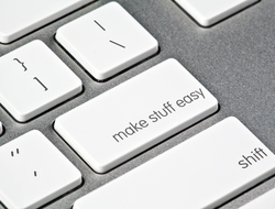 Custom keyboard make stuff easy