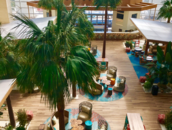 A look inside the Diplomat Beach Resort in Hollywood, Florida after Hurricane Irma